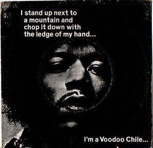jimi hendrix collector maxi single/vinyls/voodoo chile 1970 november/australia polydor