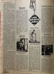 jimi hendrix collector magazines/bravo september18 1967jimi hendrix article