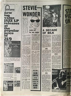 jim hendrix collector newspaper/melody maker 21/10/1967