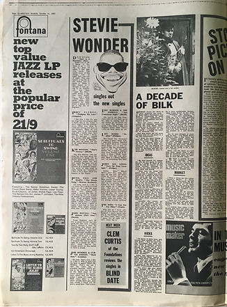 jim hendrix collector newspaper/melody maker 21/10/1967