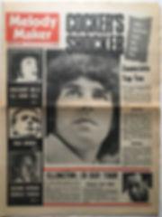 jimi hendrix newspaper 1968/melody maker october 26/1968
