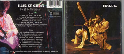 jimi hendrix family edition  /  live at the filmore east  2cd