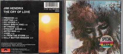 jimi hendrix cd album/cry of love