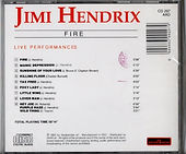 jimi hendrix rotily cd fire