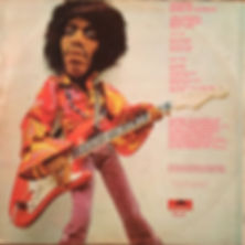 jimi hendrix rotily vinyls collector/band of gypsys