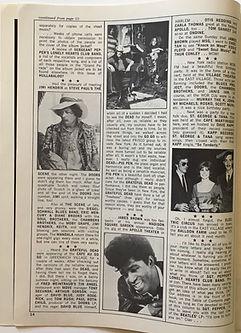 jimi hendrix collector magazine/hullabaloo october 1967