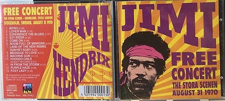 jimi hendrix bootlegs cd / jimi free concert