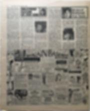 jimi hendrix newspaper 1968/disc music echo 21/11/68