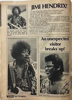 jimi hendrix magazine 1969/flip teen magazine /jimi hendrix !