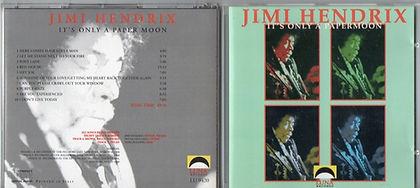 jimi hendrix cd bootleg/it's only a paper moon