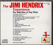 jimi hendrix collector cd bootlegs/the wild man of pop plays volume1