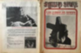 jimi hendix newspaper/rolling stone /june 22  1968