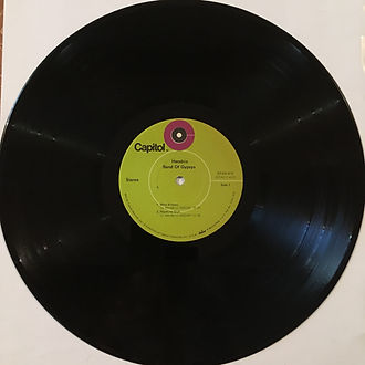 jimi hendrix rotily vinyl/ band of gypsys first pressing 1970