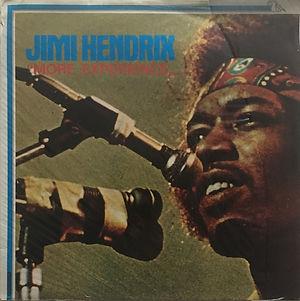 jimi hendrix vinyls reissue / side 1 : more experience pellicano  fonit cetra 1980