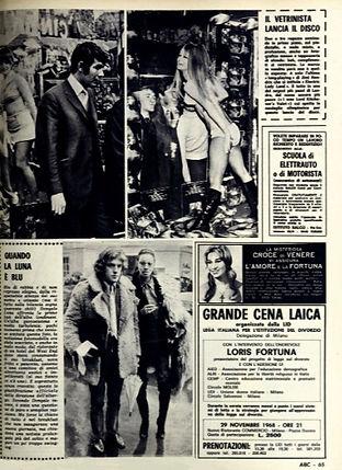 jimi hendrix magazine 1968 /abc november 29, 1968