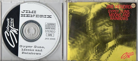jimi hendrix bootlegs cds 1969/gypsy suns, moons and rainbows