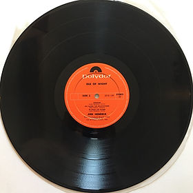 jimi hendrix album vinyls lps/side 2  isle of wight 1971 new zealand