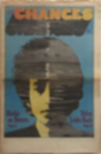 jimi hendrix newspaper 1969/changes june 1 1969/poster