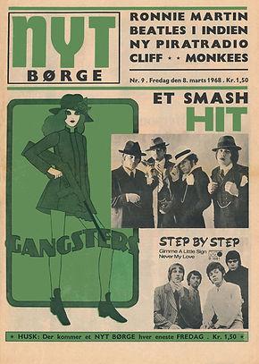 jimihendrix newspaper 1968 / nyt borge march 8-15  1968