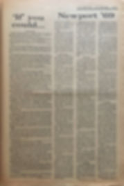 jimi hendrix newspapers 1969/ the image part 3 / newsport'69