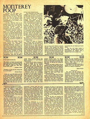 jimi hendrix newspapers 1969/helix september 19 1969/monterey poop film