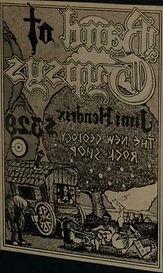 jimi hendrix memorabilia 1970 / ad band of gypsys