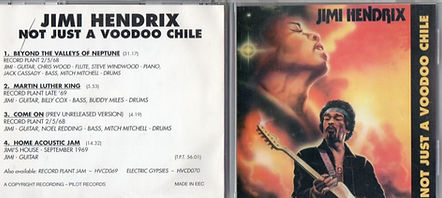 jimi hendrix cd bootleg / not just a voodoo chile
