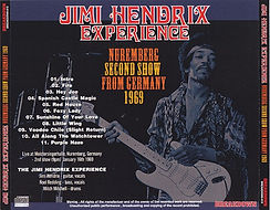 jimi hendrix bootleg cd 1969/  nuremberg second show germany2.