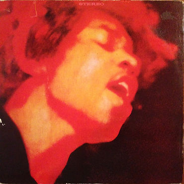 jimi hendrix rotily pat//vinyls collector/electric ladyland