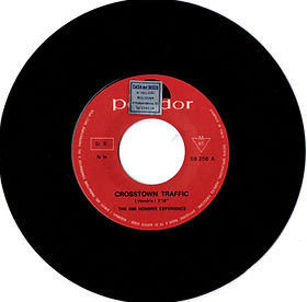 jimi hendrix collecor singles vinyls 45t/ side1 crosstown traffic polydor italy 1968