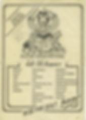 jimi hendrix memorabilia 1970 / flyer isle of wight festival 1970