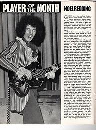 jimi hendrix magazine/beat instrumental june 1967