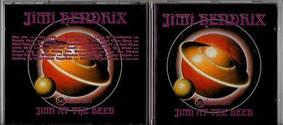 jimi hendrix collector bootlegs cds/jimi at the beeb london 1967/jimi records/1992