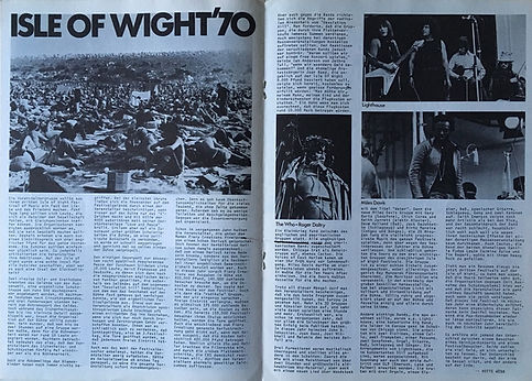 jimi hendrix magazines 1970 death/ sounds  october 1970