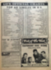 jimi hendrix newspaper/go july 12 1968/top 20 albums: are you experienced N°9