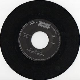 jimi hendrix vinyls singles/ballad of jimi /yugoslavia