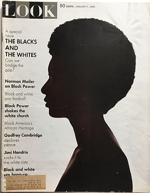 jimi hendrix magazine 1969/look january 7 1969