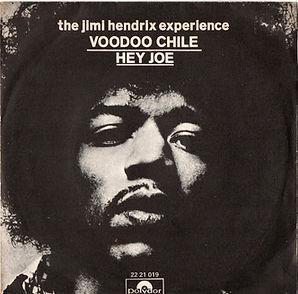 jimi hendrix collector singles/vinyls/voodoo chile/hey joe  1970 spanish