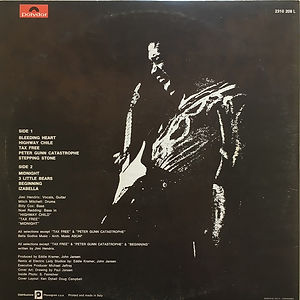 jimi hendrix vinyls collector 1969/war heroes 1972