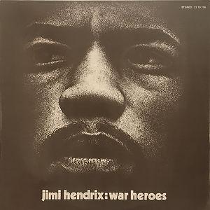 jmi hendrix vinyls album / war heroes spanish 1972