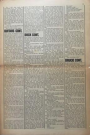 jimi hendrix memorabilia 1970/ rock august 17, 1970