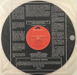 jimi hendrix collector vinyls/LP/album/band of gypsys 1990 south korea