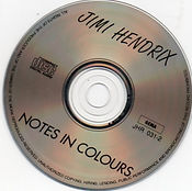 jimi hendrix collector bootlegs /notes in colours disc 2 cds 1969/ notes in colours : disc 2
