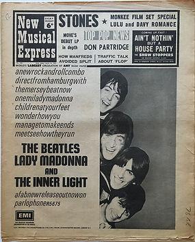 jimi hendrix newspaper/new musical express 16/3/1968