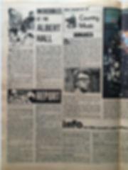 jimi hendrix newspaper 1968/record mirror november 9 1968