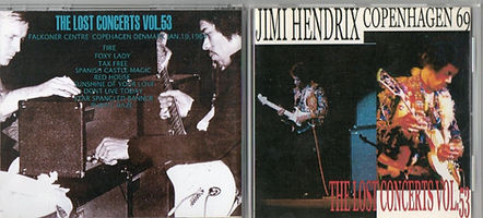 jimi hendrix bootleg cd/the lost concerts vol 53