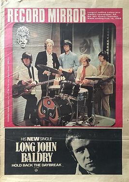 jimi hendrix newspaper record mirror 10/2/1968