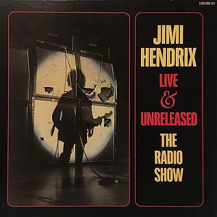 jimi hendrix vinyls album /  live & unreleased / castel records