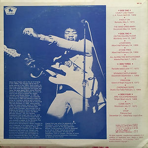 jimi hendrix bootlegs vinyls /the good die young