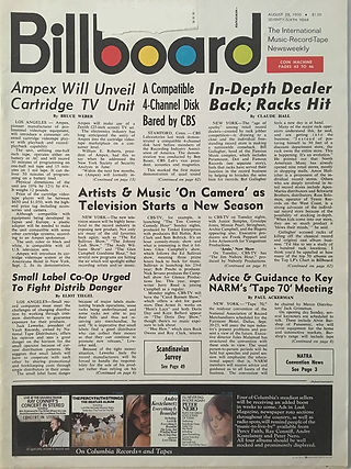 jimi hendrix magazines 1970 / billboard august 29j, 1970